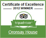 2012 Winner - Tripadvisor Certificate of Excellence. Click here to see our TripAdvisor reviews