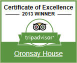 2013 Winner - Tripadvisor Certificate of Excellence. Click here to see our TripAdvisor reviews