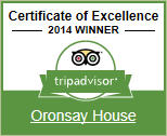 2014 Winner - Tripadvisor Certificate of Excellence. Click here to see our TripAdvisor reviews